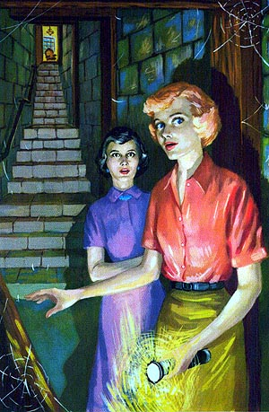 Nancy Drew Blog Party Day 7   The Hidden Staircase Discussion