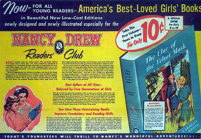Nancy Drew Library Cameo Editions