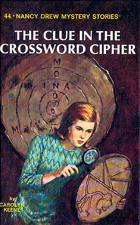 NANCY DREW #22: THE CLUE IN THE CRUMBLING WALL by Carolyn Keene 1972 Printing
