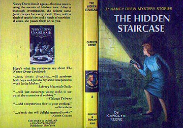 Featured Above Is An Advertisement That Appeared On Yellow Spine Picture  Cover Format Books Like The Hidden Staircase Book Pictured.