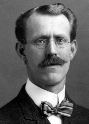 Edward Stratemeyer black and white photograph
