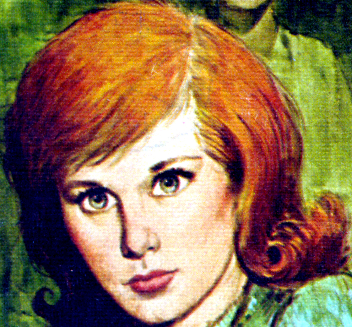 click on the following image of nancy for a very large image which you can print out to create a nancy drew mask you can also resize for printing in your